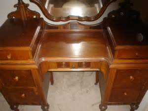 antique furniture 1920s vanity with mirror rushville