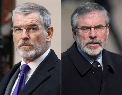 a look at pierce brosnan in the foreigner manlymovie pierce brosnan gerry adams celebrity twins who are not