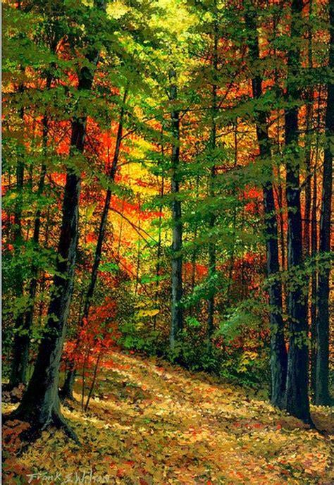 imagenes de paisajes en uñas im 225 genes arte pinturas paisajes hermosos pinturas