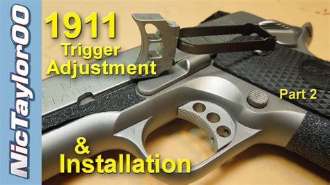 2 türiger kleiderschrank 1911 pistol trigger adjustment for overtravel and