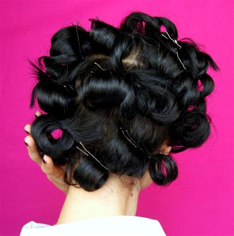 what year was pin curls new year s eve hair with diy chains clips language