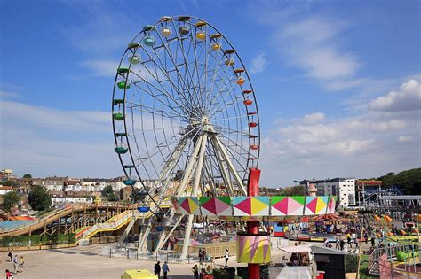 dreamland theme margate amusement park re opens after 163 18m restoration daily mail online