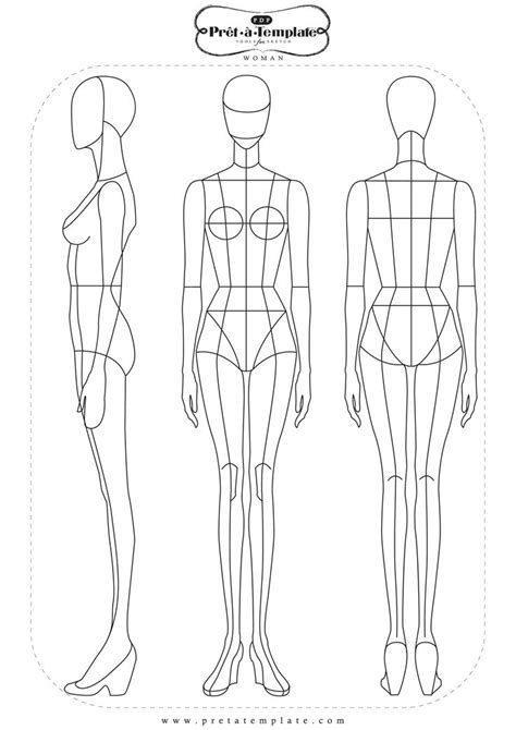 textiles templates figures the 270 best images about croquis on fashion
