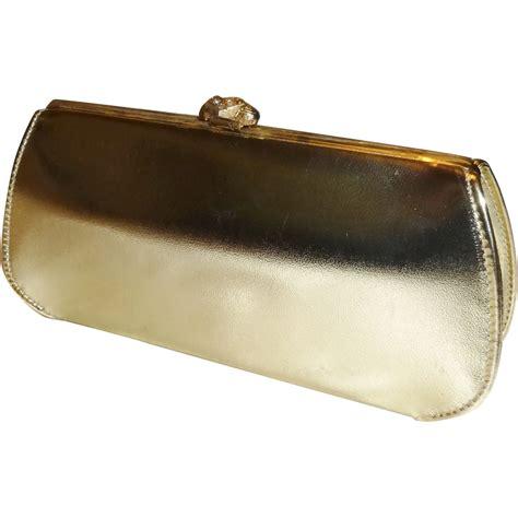 gold convertible metallic gold convertible clutch evening handbag purse