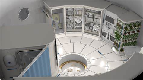 English Kitchen Design by Nasa Selects Six Companies To Develop Habitat Prototypes