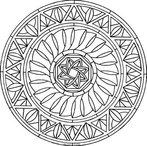 blank mandala coloring pages blank mandala software