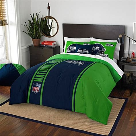 seattle seahawks bed set nfl seattle seahawks embroidered comforter set www