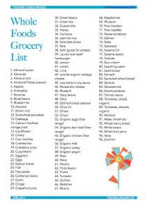 printable grocery list april 2013 whole foods