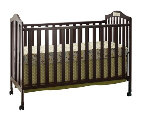 Big Crib by Big Oshi Emily 2 In 1 Crib Espresso Baby Baby
