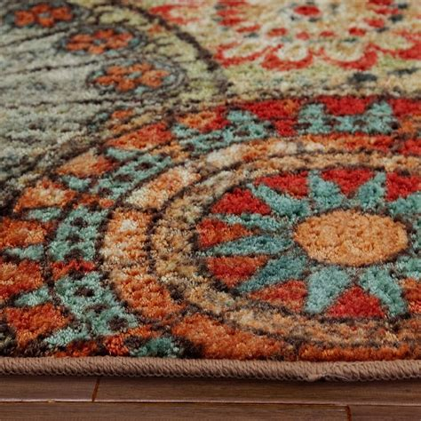Ikea Runner Rugs 100 orange and teal area rug mohawk home medallion