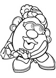 mr potato coloring page mr potato coloring page coloring home