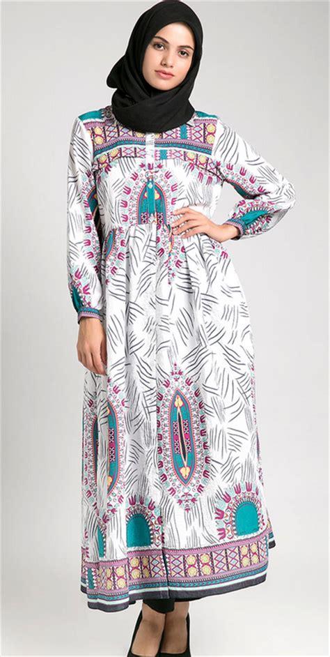desain baju batik gamis untuk orang gemuk model baju muslim gamis untuk orang gemuk