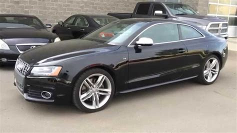 pre owned audi s5 pre owned black on black 2012 audi s5 2dr cpe manual