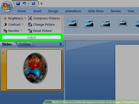 how to remove background in powerpoint how to remove a solid background color of an image in