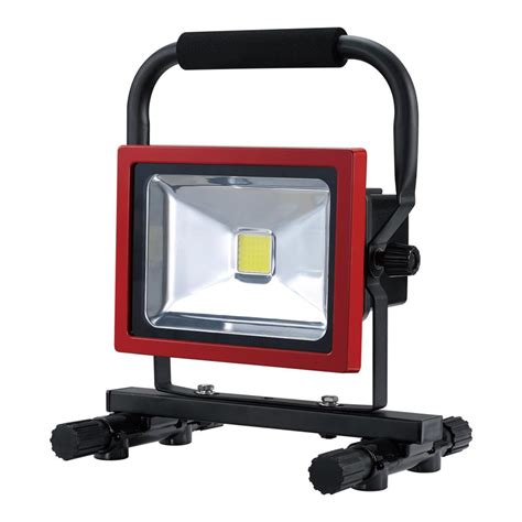 Work Light Fixtures Ryobi 18 Volt One Dual Power 20 Watt Led Work Light Tool Only P720 The Home Depot