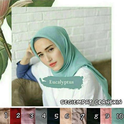 Segi Empat Cornskin 1 segi empat cornskin sentral grosir jilbab kerudung i supplier jilbab i retail grosir