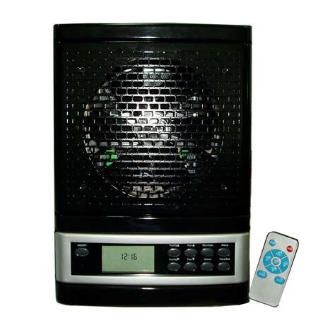 ionic ozone air purifier washable hepa filter remote control cho