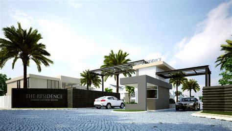 Modern Gate Design For House by The Residence Penang Property Talk