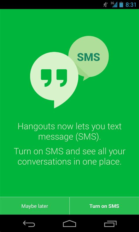 hangouts update apk apk hangouts 2 0 with support for sms animated gifs location moods and