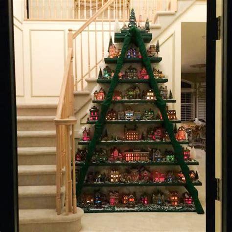 farmers weekly xmas theme 8 225 rvores de natal feitas escadas