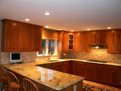 pictures of kitchen backsplashes with granite countertops kitchen countertops and backsplashes granite