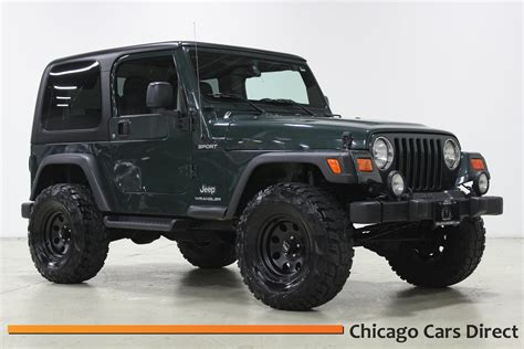 jeep 2003 wrangler chicago cars direct presents a 2003 jeep wrangler sport
