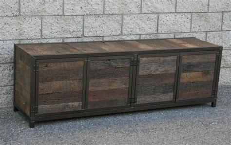 Rustic Credenza combine 9 industrial furniture handmade rustic media console credenza