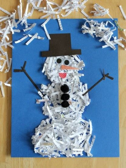 snowman crafts for to make 35 creative and snowman craft food ideas artsy