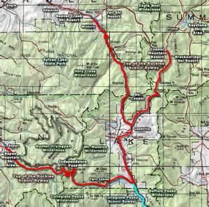 map of colorado wilderness areas eagles nest wilderness