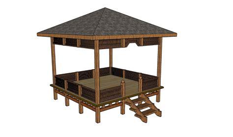 Simple Square Gazebo Plans   Pergola Design Ideas