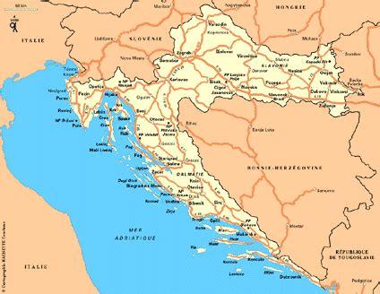 Geos Mere Et Moi Blue Map carte croatie plan croatie routard