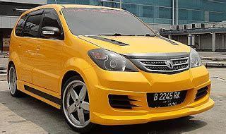 Lu Avanza Belakang modifikasi mobil avanza 2008 modifikasi mobil
