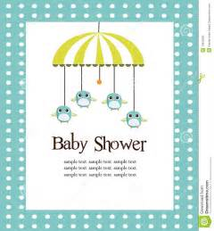 baby shower card for boys stock photo image 13820590