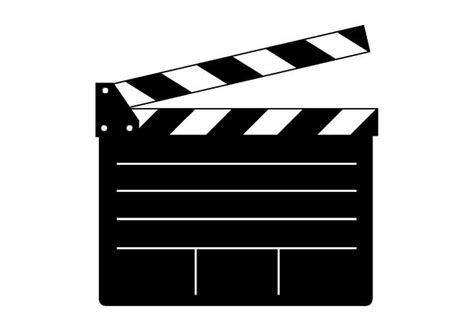 film slate emoji free clapper board vector