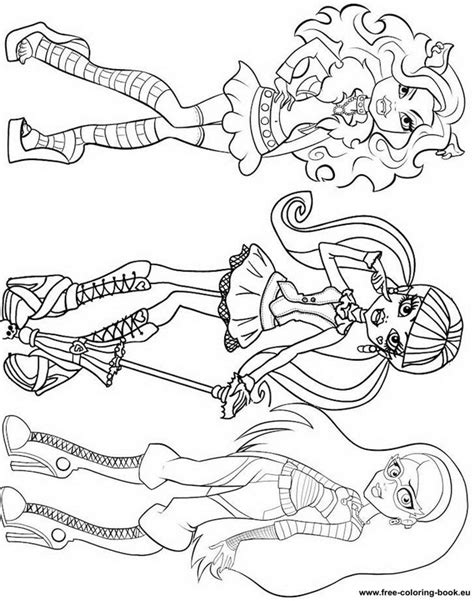 monster high coloring pages online coloring pages monster high page 1 printable coloring
