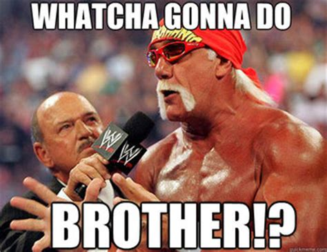 What You Gonna Do Meme - the 10 greatest sayings in wwe history bleacher report