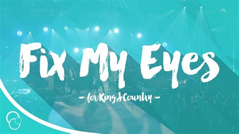 Fix My for king country fix my lyric