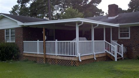 metal deck awnings awnings nc