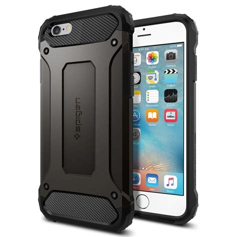 Casing Spigen Tough Armor Iphone 6 Slim Keren Logo Apple Sgp spigen tough armor tech for iphone 6s plus ebay
