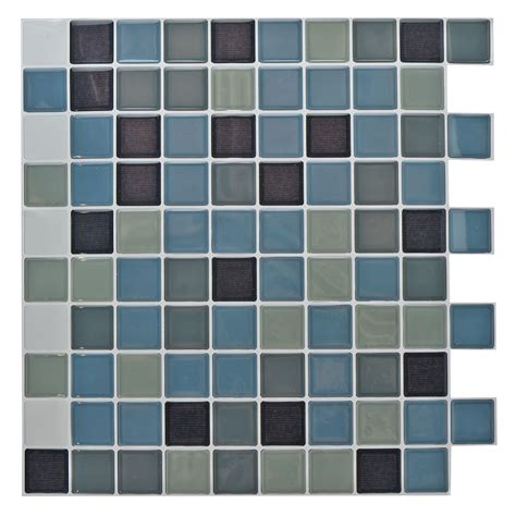 Tile Stickers Bathroom by Mosaic Tile Stickers Self Adhesive 10x10in Bathroom