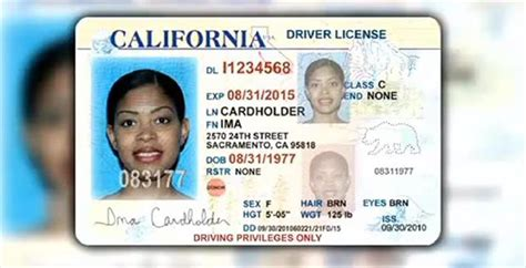 california id template 12 california drivers license template psd images