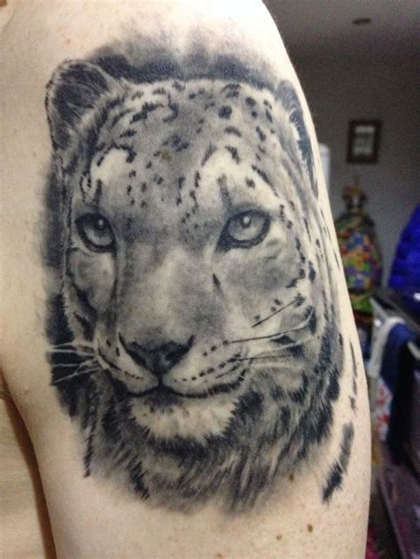 snow leopard tattoo tribal snow leopard pictures to pin on