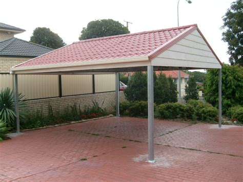 Car Port Roofing by Metal Carport Roofing Modern Melbourne By Metile