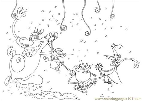 oggy coloring pages online oggy colouring pages