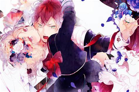 wallpapers anime diabolik lovers image diabolik lovers komori yui sakamaki ayato hd