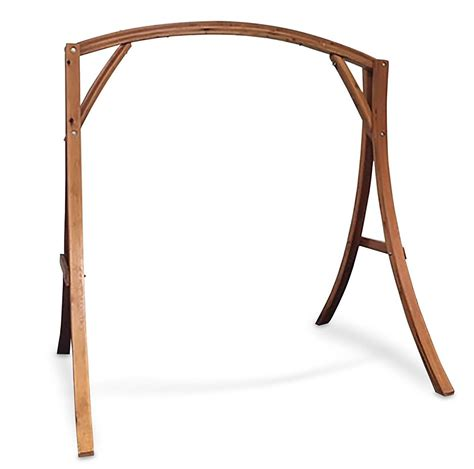 Wooden Hammock Chair Stand Hanging Chair With Stand