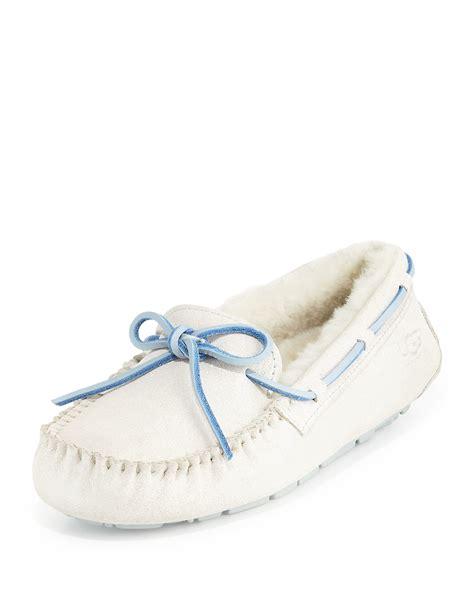 bridal slippers white ugg i do shimmery bridal slipper in white lyst