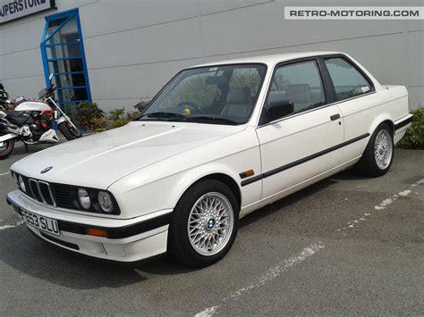 white bmw white bmw e30 f853slu bmw e30 retro motoring
