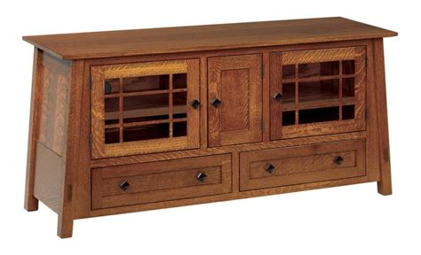 amish mission rustic tv stand plasma flat screen cabinet amish mccoy mission solid wood tv stand