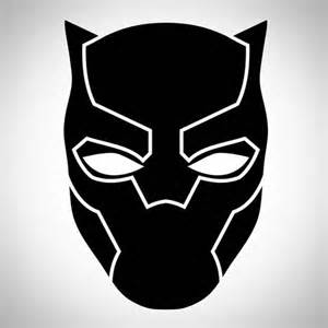 Logo Black Panther Outline by Black Panther Marvel Logo